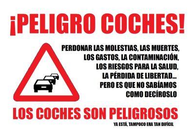 PELIGRO COCHES
